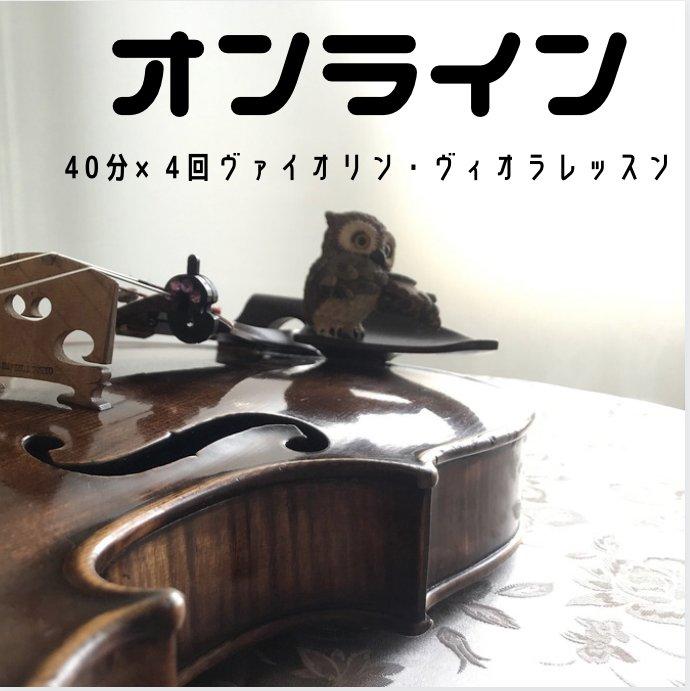 【オンラインレッスン】40分×4回|ウェブチケット|のイメージその1