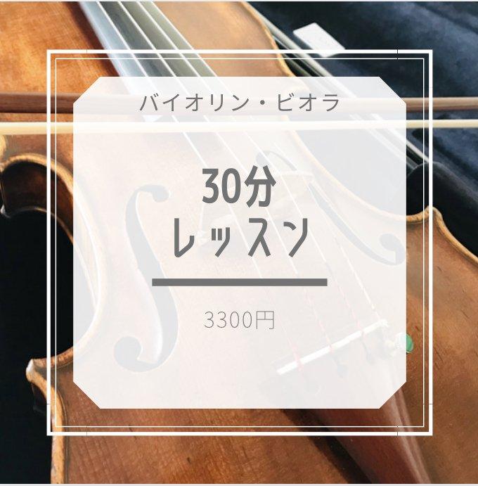 大阪阿倍野教室【30分】バイオリン・ビオラレッスンのイメージその1