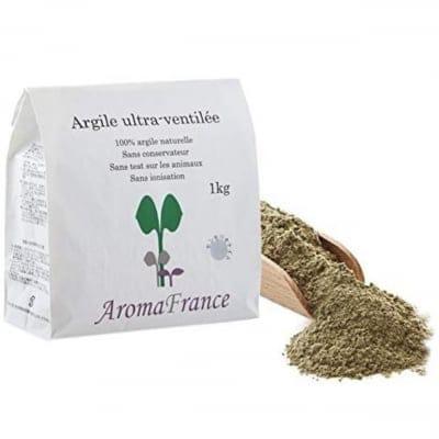アロマフランス クレイ グリーンモンモリオナイト 1kg入り