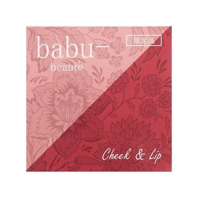 babu-/バブーボーテ チーク&リップ