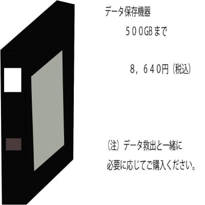 データ保存機器 500GB