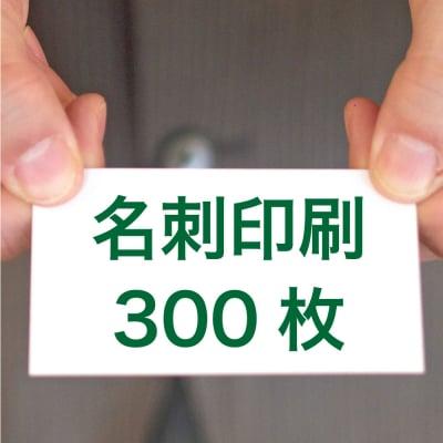 名刺印刷300枚(両面/カラー/91mm×55mm)