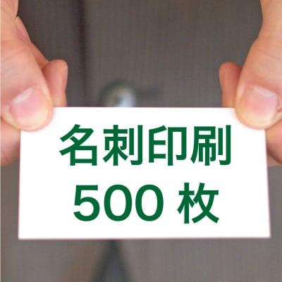 名刺印刷500枚(両面/カラー/91mm×55mm)