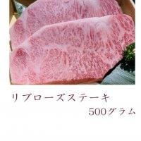 【2枚入り!!】A5黒毛和牛雌牛 リブロースステーキ500g 闘牛門ギフトセット