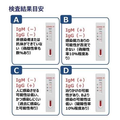 抗体 検査 結果