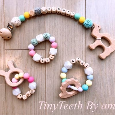 TinyTeeth歯固めジュエリー各種
