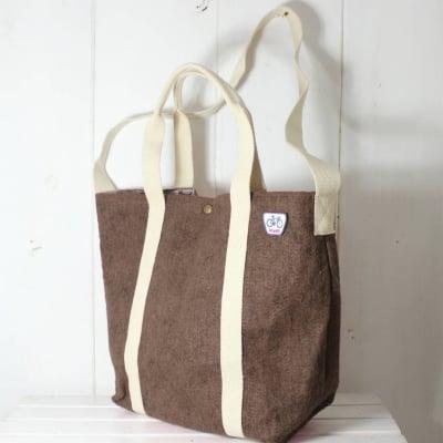 【アウトレット】リサイクルトートショルダーバッグ