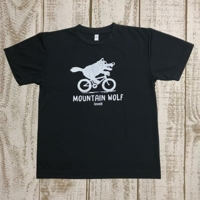 【500P高ポイント還元】【送料無料】ドライTシャツ MOUNTAIN WOLF1 NAVY
