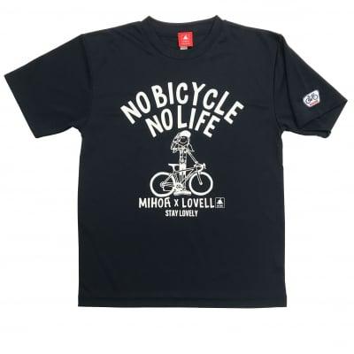 【新商品】【送料無料】ドライTシャツ MIHO氏コラボモデル ネイビー