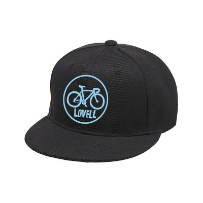 【2020新商品】FLAT VISOR CAP ROAD BIKE BLACK