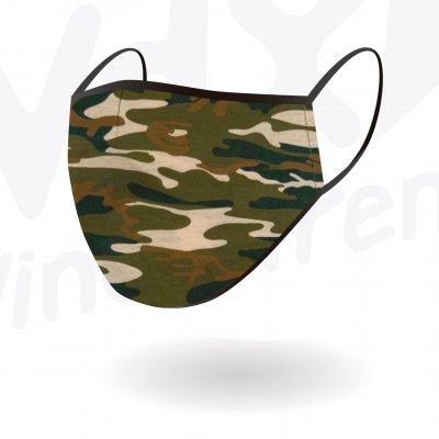 WDX スポーツマスク CAMOUFLAGE KAKI Mサイズ