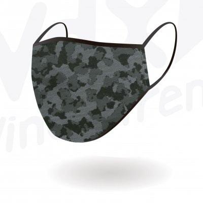 WDX スポーツマスク DIGITAL CAMO BLACK Mサイズ