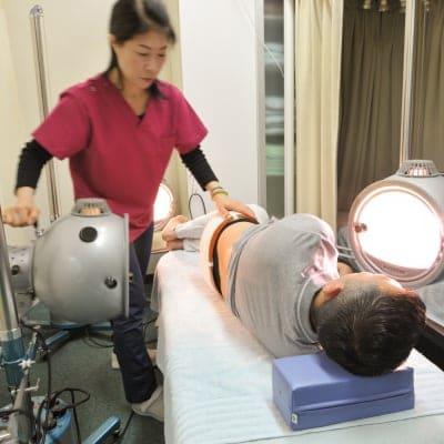 光線療法回数券(3回)ちょっと珍しい施術!!肌のお悩みをお持ちの方はとくにおすすめです♪