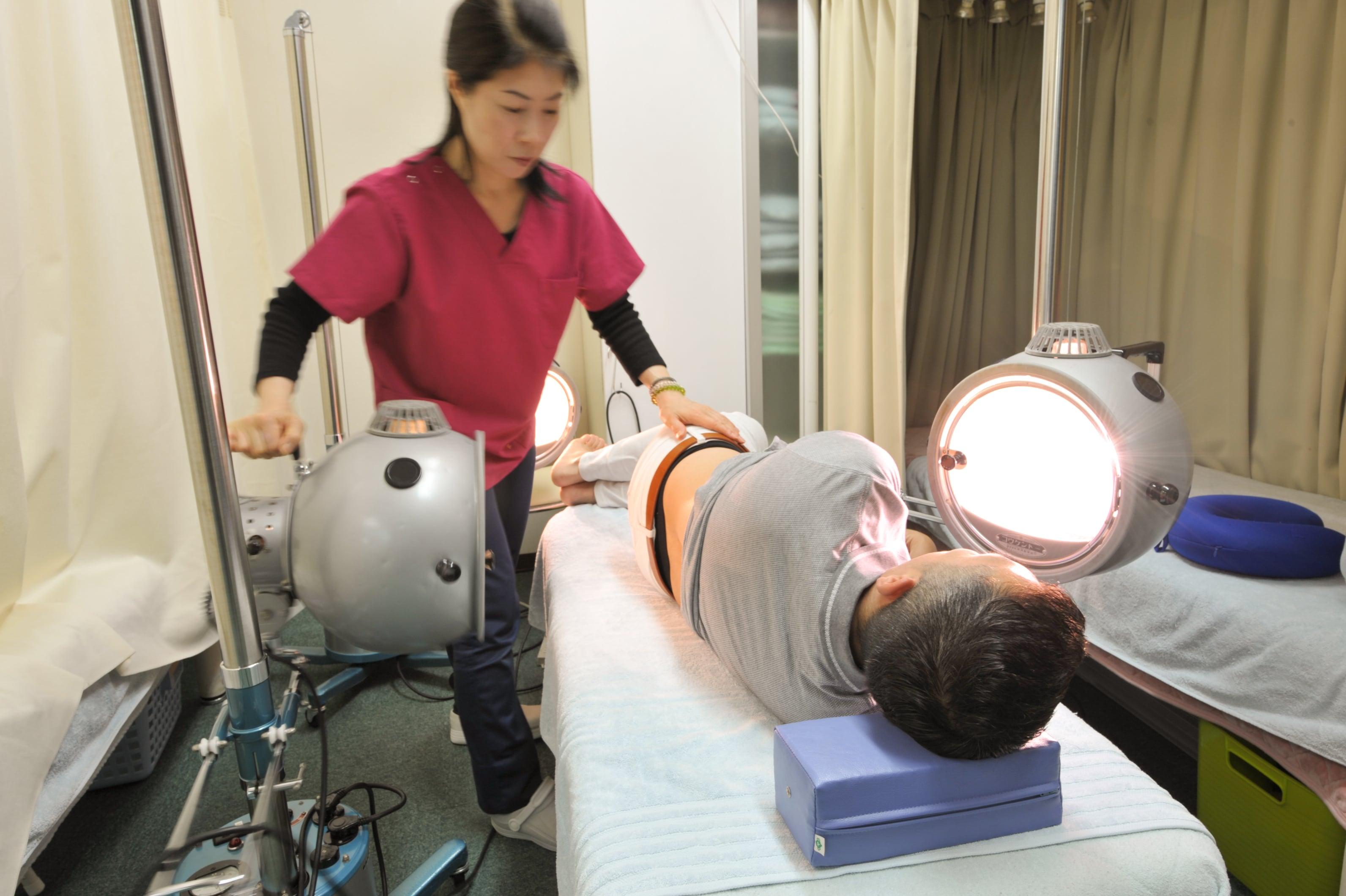 光線療法回数券(3回)ちょっと珍しい施術!!肌のお悩みをお持ちの方はとくにおすすめです♪のイメージその1