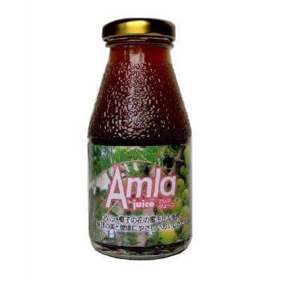 【サビないカラダ作り】新商品アムラジュース(内容量:200ml)毎日手軽にポリフェノールを♪ 美と健康の為の飲むアンチエイジング 美のフルーツとして大注目 アムラ