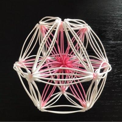 《8/19 13:00〜》紙=神の棒! 綿棒でつくる 立体の神聖幾何学 (ベクトル平衡体) ワークショップ