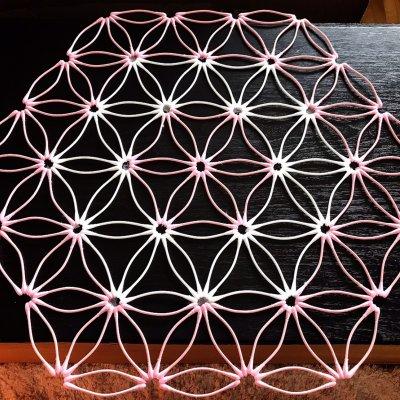 《5/27 12:00〜》紙=神の棒! 綿棒でつくる 平面の神聖幾何学 (ベクトル平衡体) オンラインワークショップ