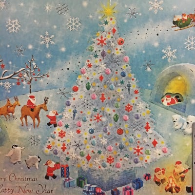 クリスマスチャネリングメッセージカード(封筒)