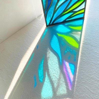 グラスアート飾り盾