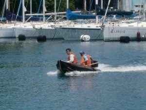 【送料未確定】折り畳み式ボート/ノーティレイNT250(組立式ボート)
