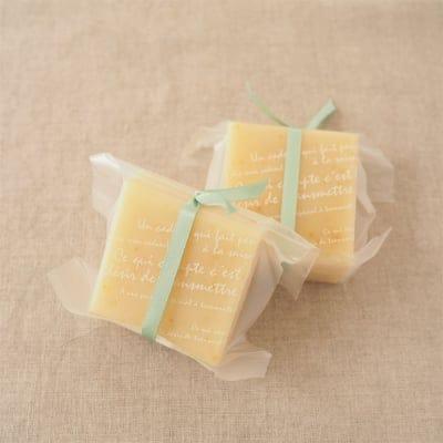 【次回できあがり2月下旬予定】レモングラスソープ(洗顔石けん)の画像2