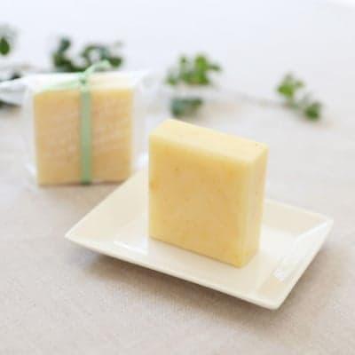 【心をリフレッシュさせる香り・シアバター配合】レモングラスソープ(洗顔石けん)