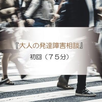 『ちょっと生きずらい人のお悩み相談』(大人の発達障害)初回(75分)