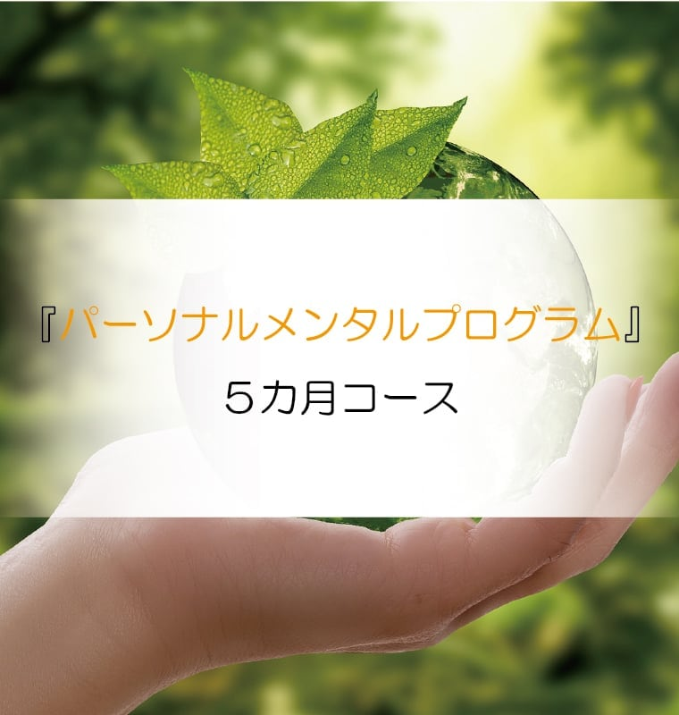 『人生が変わるメンタルプログラム』5カ月チャレンジコース【郵送専用】のイメージその1