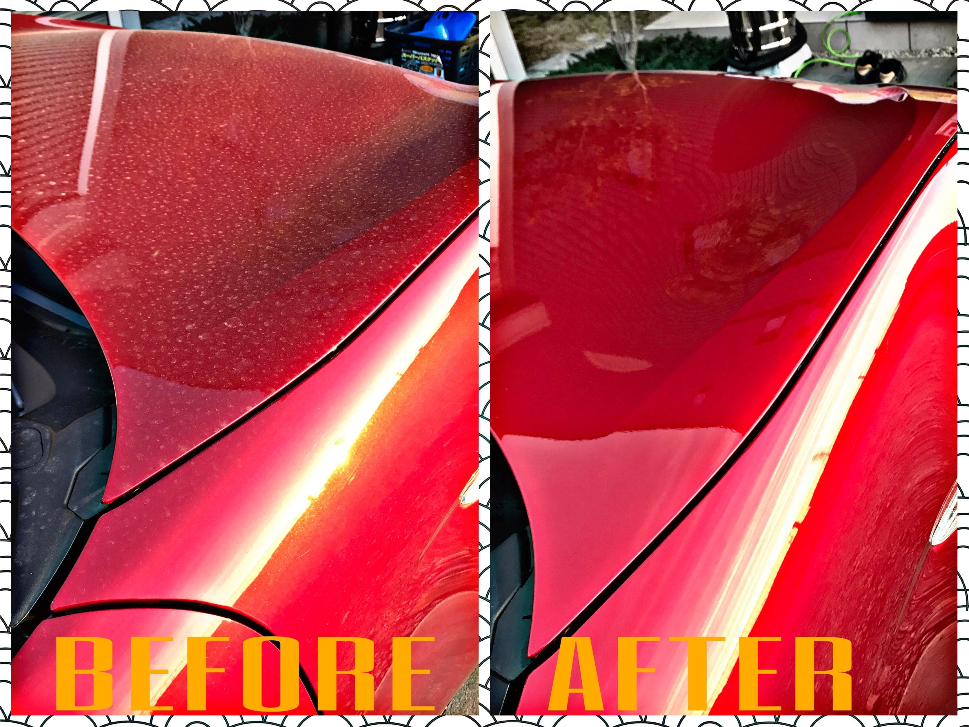 手洗い洗車(鉄粉除去込み)+車内清掃 〜ミニバン・ワンボックス〜のイメージその1