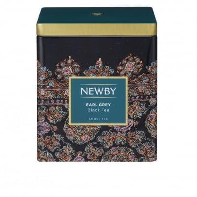 リーフ(茶葉)125g CADDY  アールグレイ 高級紅茶 [NEWBY]  ギフト・贈り物に最適