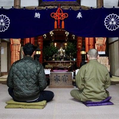 【予約制・店頭払いのみ】築400年の本堂で秘仏が見守る座禅体験