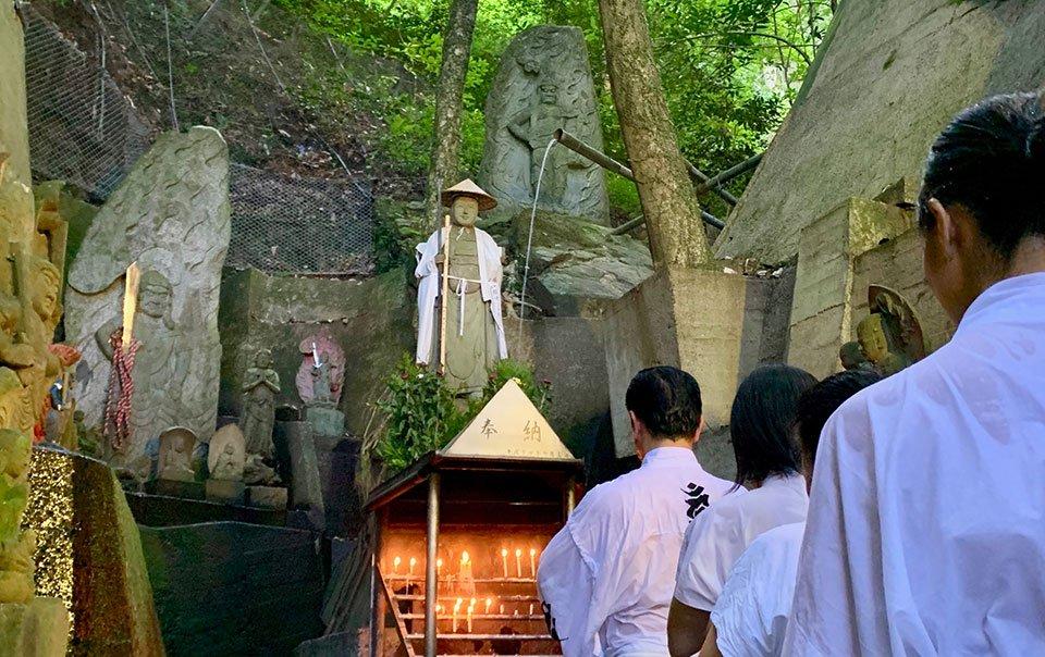 【予約制・店頭払いのみ】瀧行体験 弘法大師ゆかりの地で1350年続く自然流水の瀧行体験のイメージその1