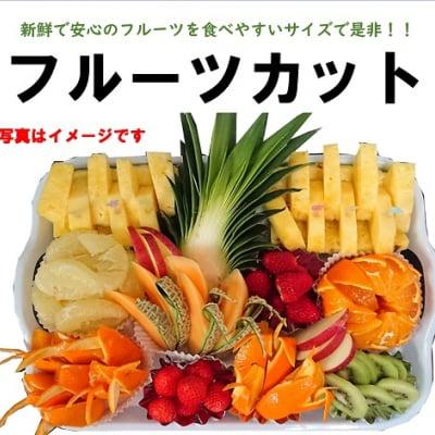 【前日までの予約必須】【店舗受取専用】フルーツカット|3千円