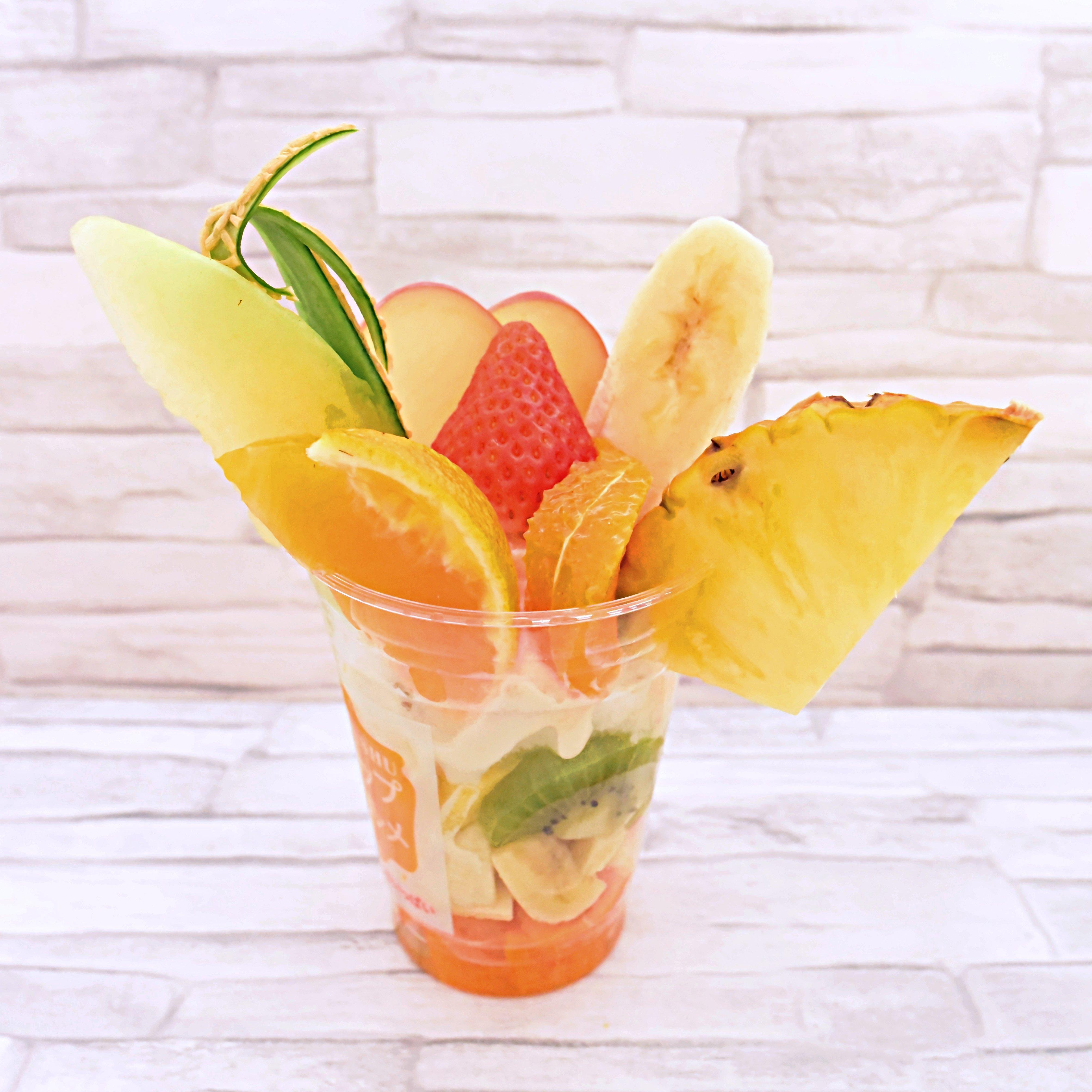【テイクアウト専用】季節のフルーツミニパフェのイメージその2