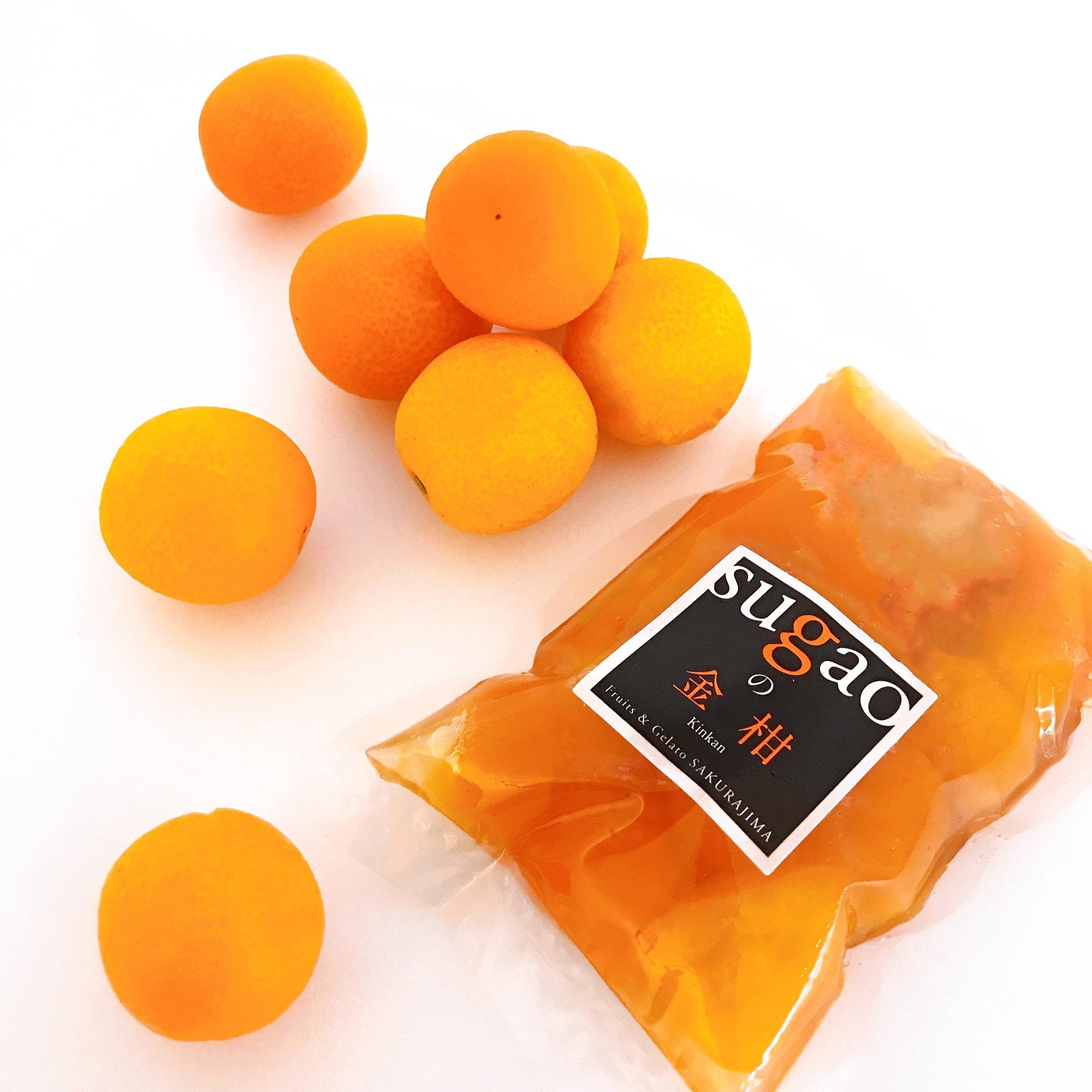 鹿児島県産フルーツ金柑の冷凍甘煮180gのイメージその3