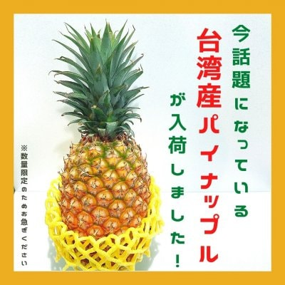 【店頭受取|取り置き予約専用】台湾産|パイナップル|大玉