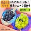 【敬老の日ギフト 早期予約割】秋のフルーツ詰合せ 6000円コース