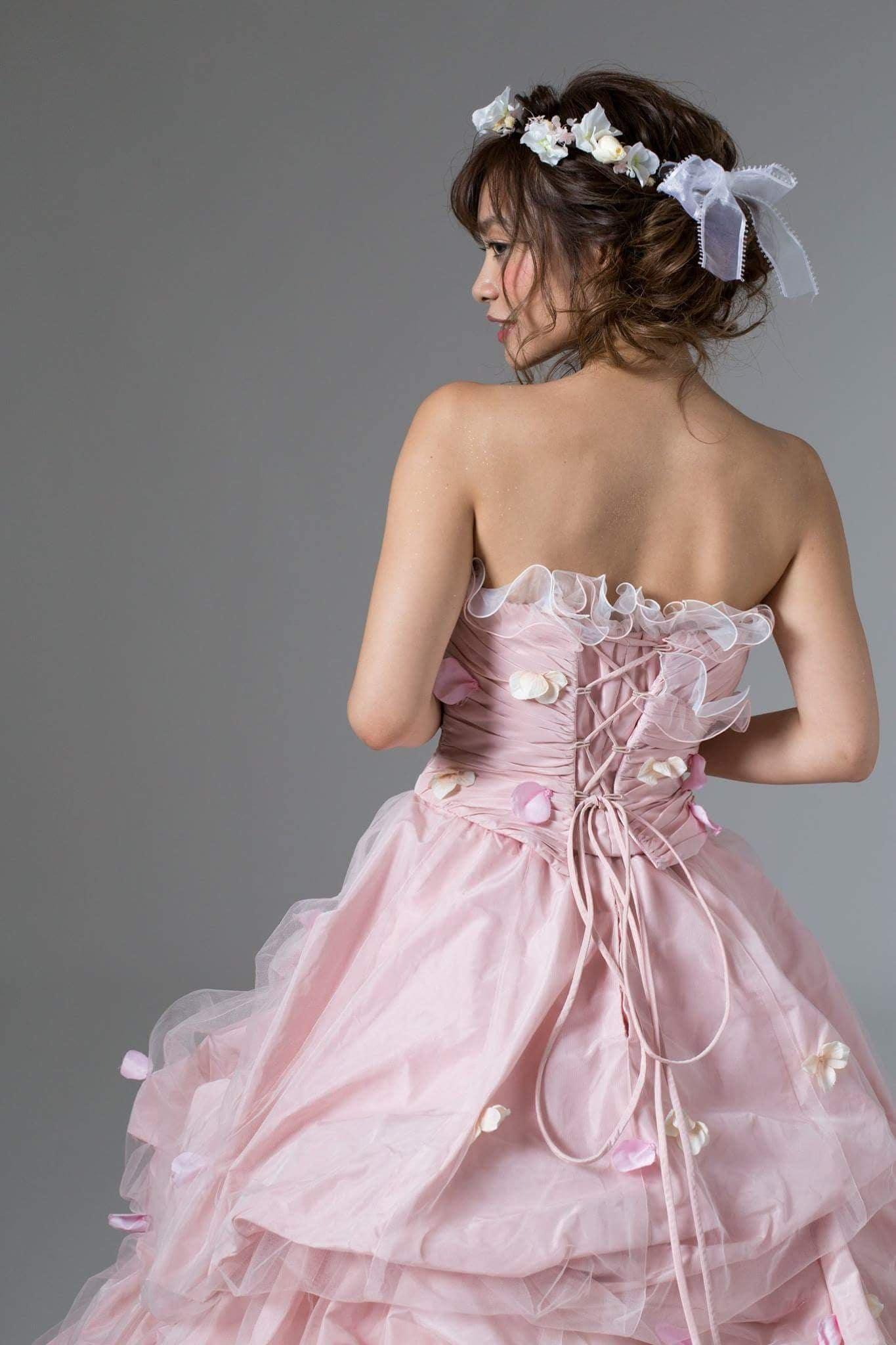 レンタルウエディングドレス(プリンセスピンクレディー)のイメージその5