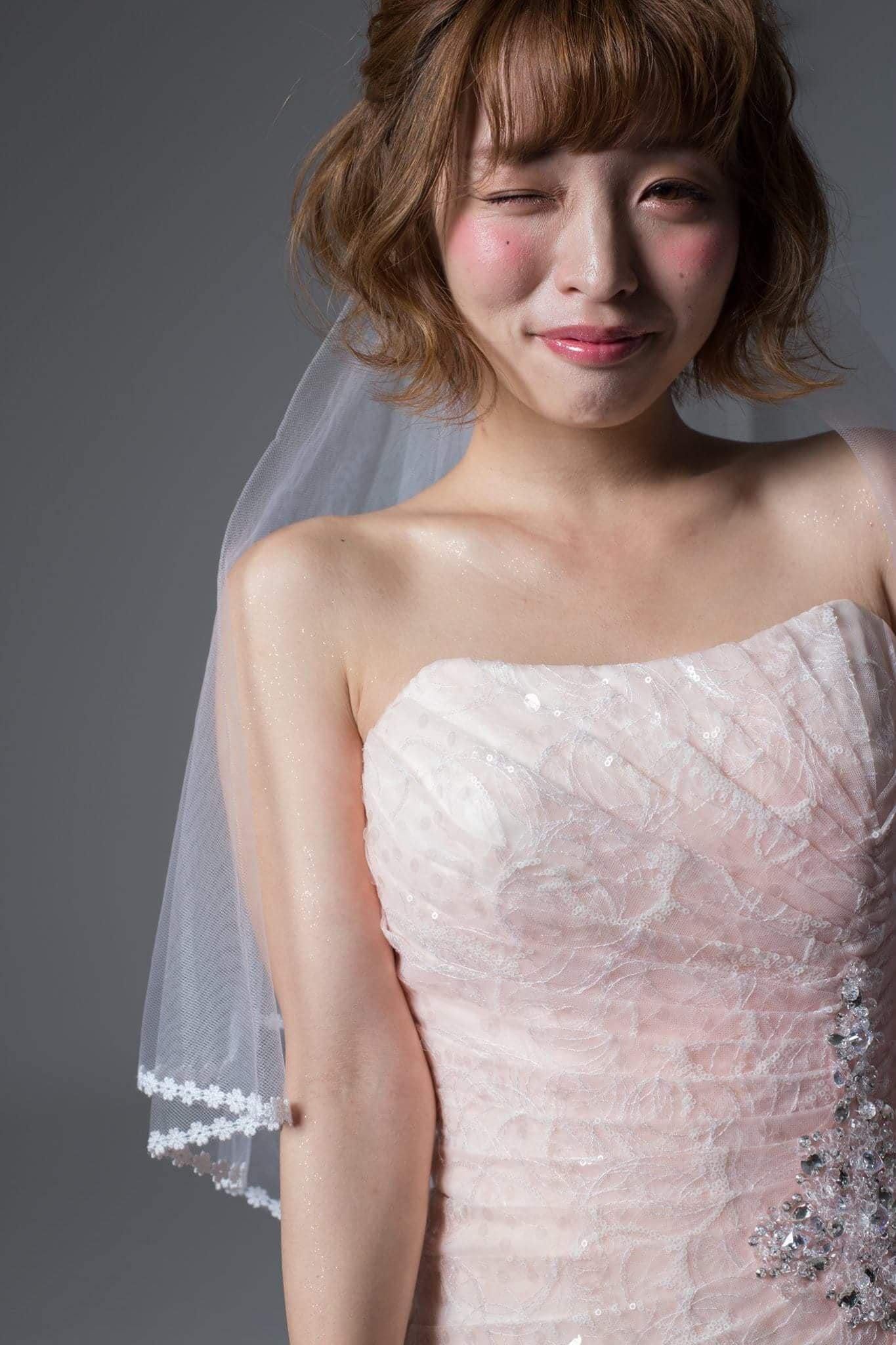 レンタルウエディングドレス(シャーリーナチュラルピンク)のイメージその4