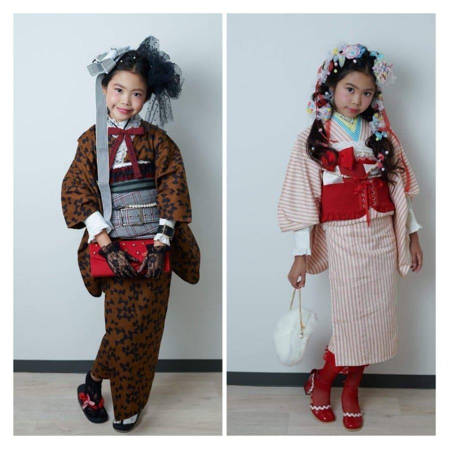 【七五三】3歳・ヘアセット・メイク・着付け込みのお得なセットプランのイメージその3