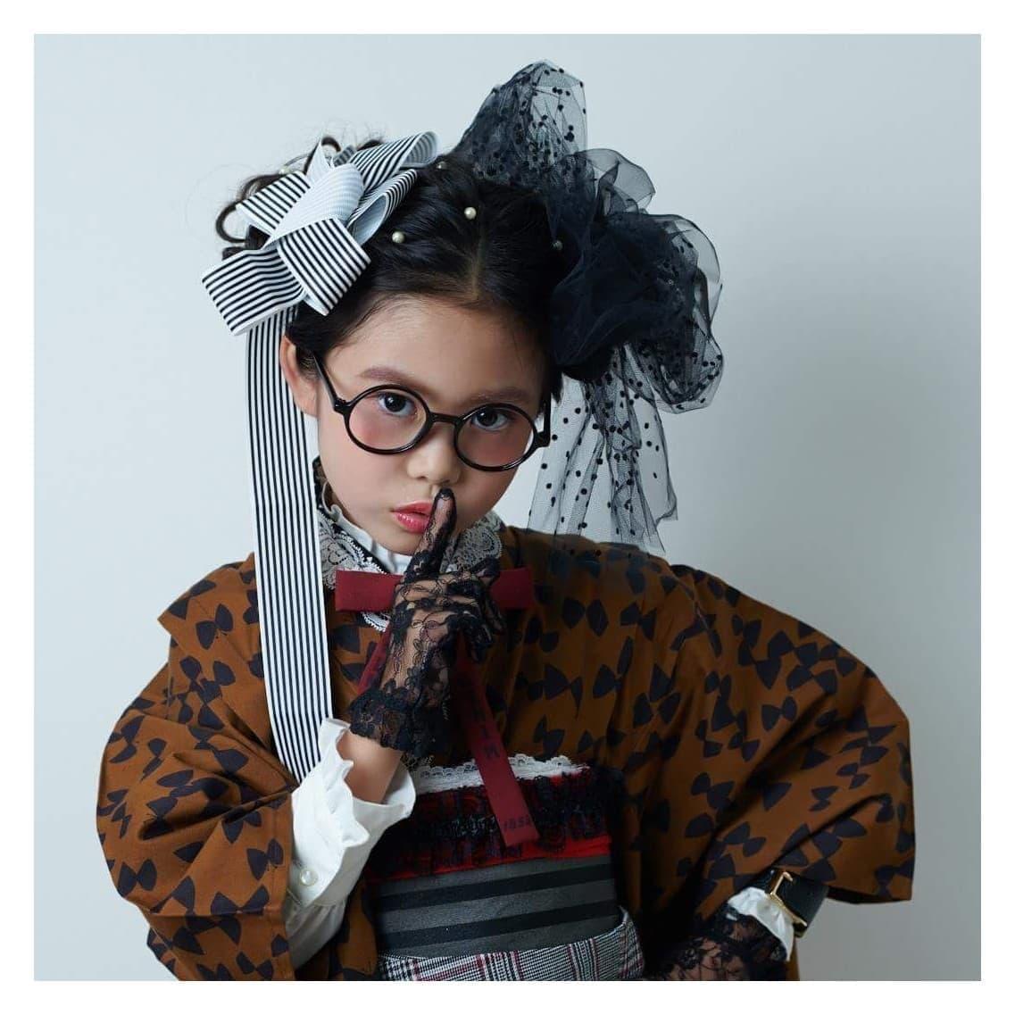 【七五三】3歳・ヘアセット・メイク・着付け込みのお得なセットプランのイメージその5