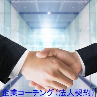 限定4社 企業コーチング(法人年間契約) クレジット払い不可