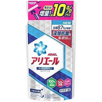 P&G アリエール ジェル サイエンスプラス つめかえ用 790g 洗濯洗剤 増量品
