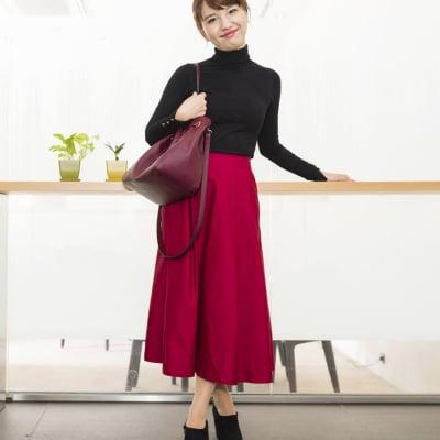 【オフィスでも使える!働く女性のための靴】lelysブーティー(ブラック)21.5-25.5cm