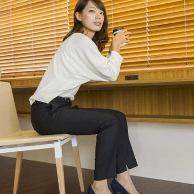 【働く女性のためのパンプス】lelysパンプス(ベージュ)21.5-25.5cm
