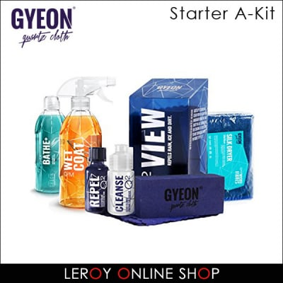 GYEON ジーオン スターターキット A-キット (Bathe+、Wetcoat、View、Silkdryer)