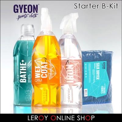GYEON ジーオン スターターキット B-キット (Bathe+、Wetcoat、Iron、Silkdryer)
