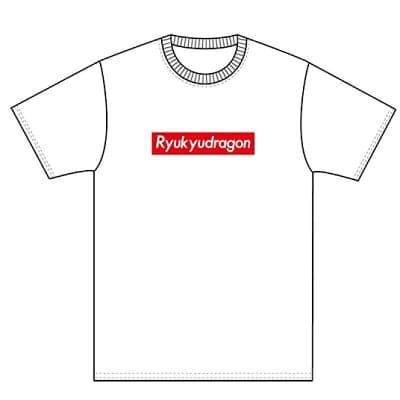 琉ドラロゴTシャツ(白)XXLサイズ