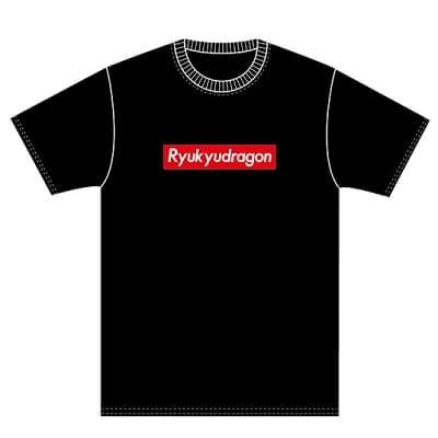 琉ドラロゴTシャツ(黒)XXLサイズ