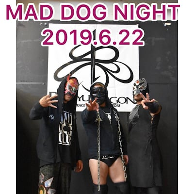 《6月22日》MAD DOG NIGHT2019(SS席)